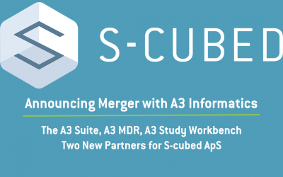 S-cubed Announces A3 Informatics Merger and New Partners