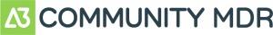 A3 Community MDR Logo Dark