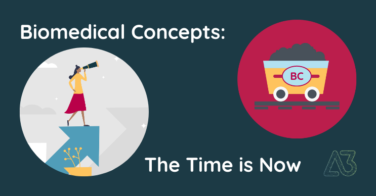 Biomedical Concepts: The Time is Now