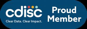 CDISC Proud Member