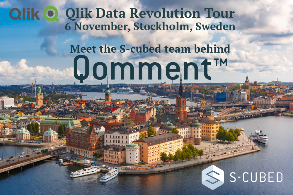 Qlik Team on Tour – Are you part of the Data Revolution?